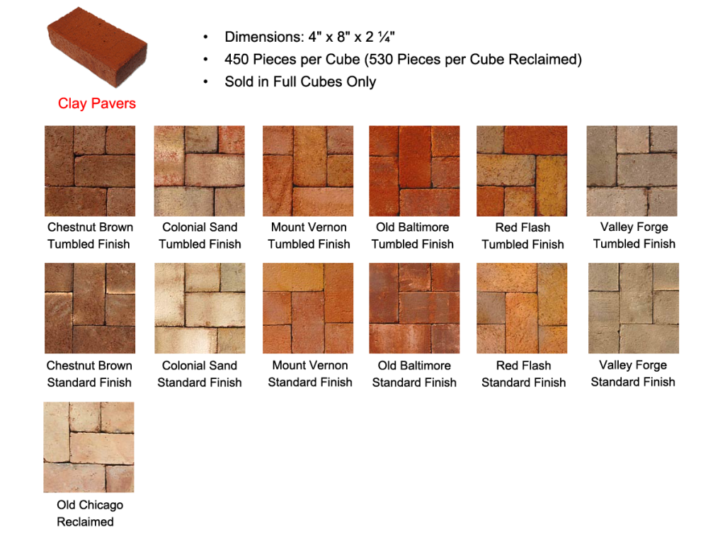 Clay Brick Pavers Clay Brick Pavers « Special T Pavers